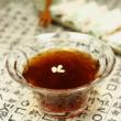 伝統茶4−食事の後、口直しに「水正果」