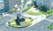 国宝1号南大門が近くで見れる。「南大門広場オープン」